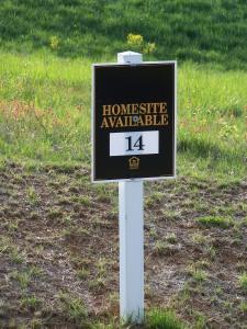 Highlands lot sign...still for sale?